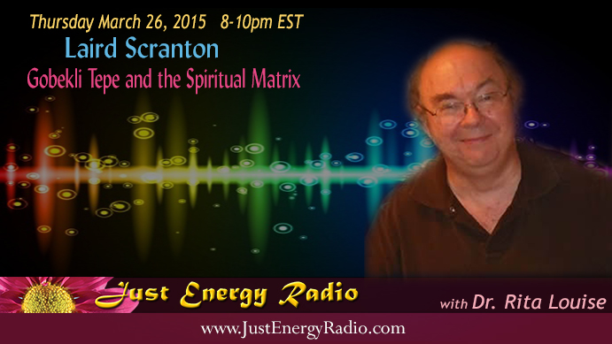 Laird Scranton on Just Energy Radio