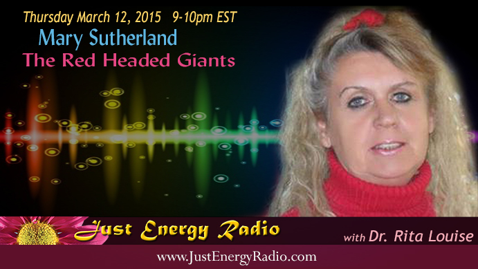 Mary Sutherland on Just Energy Radio