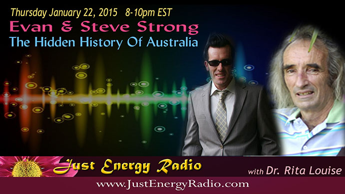 Evan and Steve Strong on Just Energy Radio - 15-01-22-2