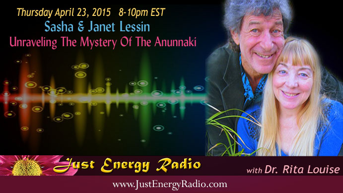 Sasha & Janet Lessin - In Just Energy Radio