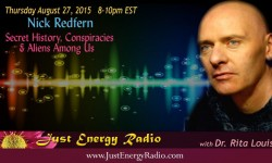 Nick Redfern on Just Energy Radio
