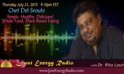 Chef Del Sroufe on Just Energy Radio