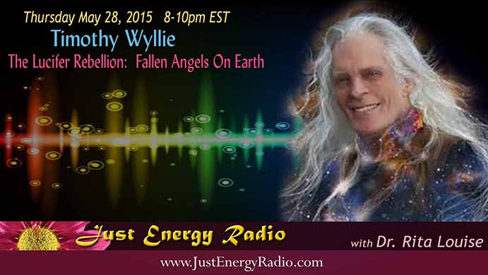 Timothy Wyllie on Just Energy Radio