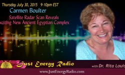 Carmen Boulter on Just Energy Radio