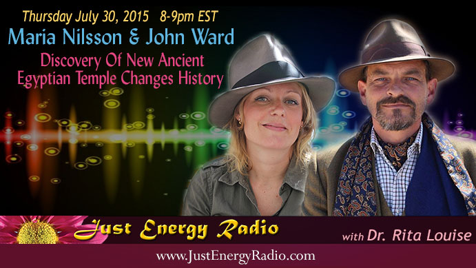 Maria Nilsson & John Ward on Just Energy Radio