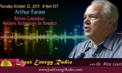 Arthur Faram on Just Energy Radio
