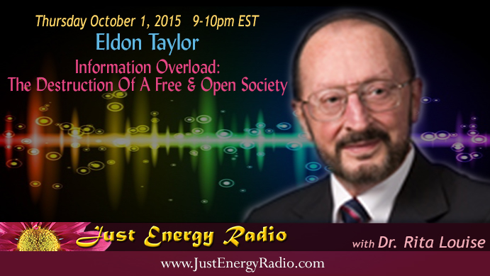 Eldon Taylor on Just Energy Radio
