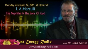 L. A. Marzulli on Just Energy Radio