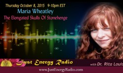 Maria Wheatley on Just Energy Radio