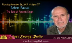 Robert BauRobert Bauval/ ancient egypt on Just Energy Radioval on Just Energy Radio