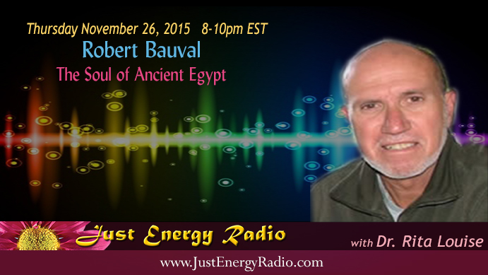Robert Bauval - Ancient Egypt - Just Energy Radio