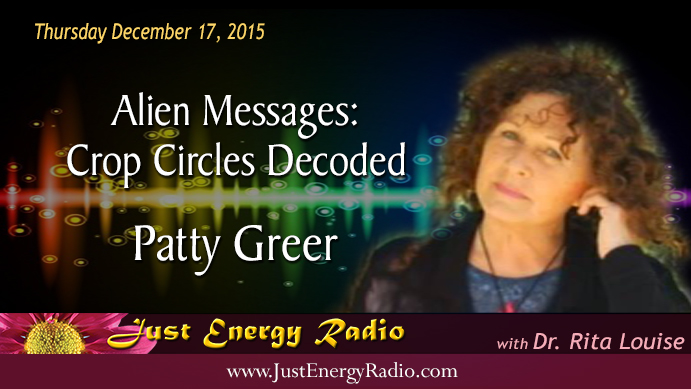 Patty Greer - Crop Circles Decoded