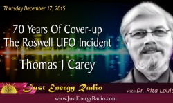 Tom Carey - Roswell UFO Incident